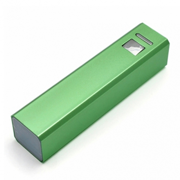 Power Bank Tower Green, 2600 mAh