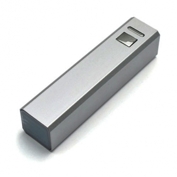 Power Bank Tower Silver, 2600 mAh